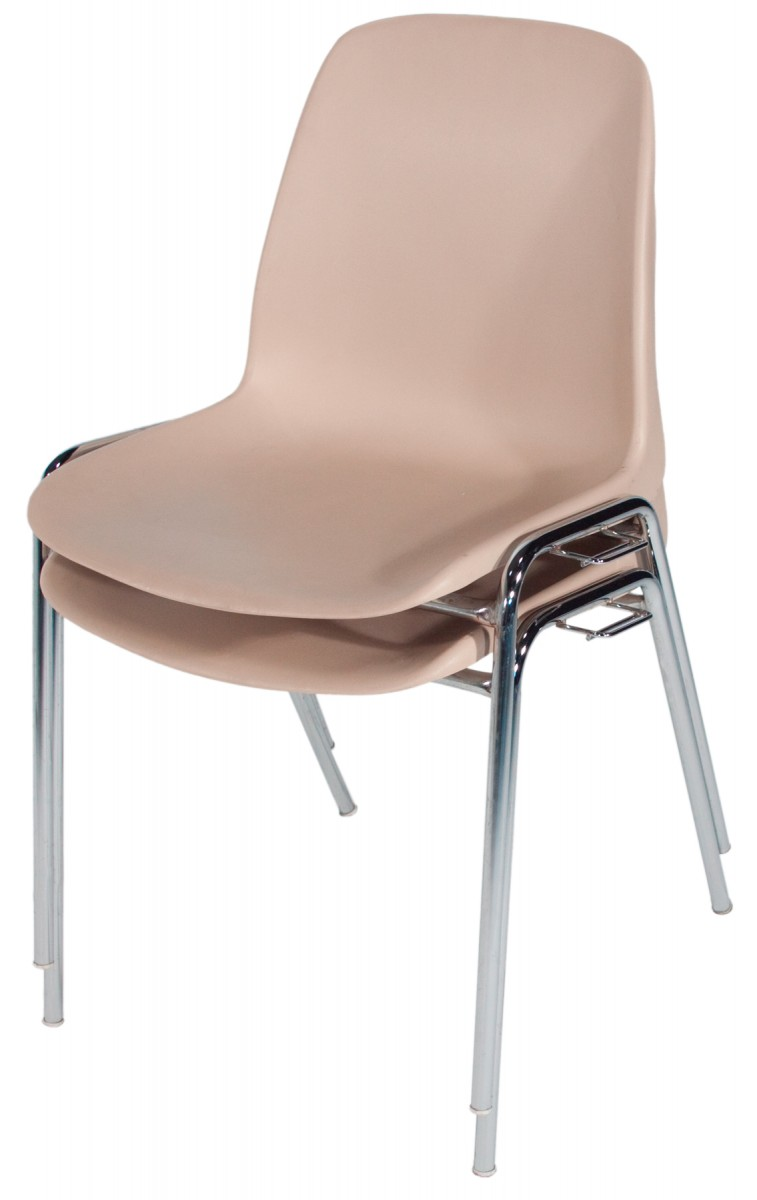 Chaise Coque Beige