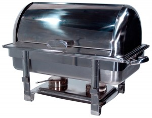 Chaffing Dish Roll Top