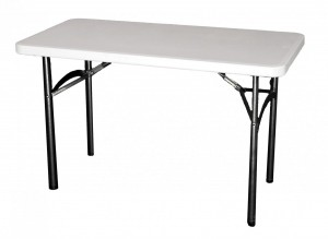 Table Mini Plume Blanche
