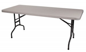 location Table plume blanche
